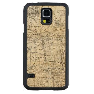 Corrija el mapa de Dakota Funda De Galaxy S5 Slim Arce