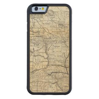 Corrija el mapa de Dakota Funda De iPhone 6 Bumper Arce