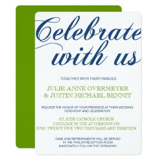 Corrin Calligraphy Wedding Invitation
