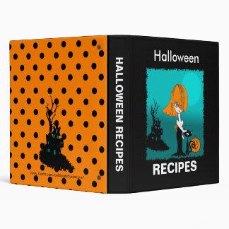 Corrina: Halloween Recipe Binder