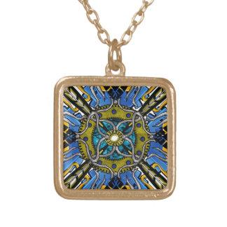 corrintha nouveau gold plated necklace