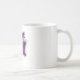 Corro 801 Purp/Blck Tazas De Café