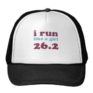 corro como un chica 26 2 gorra