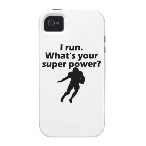 Corro cuál es su superpoder iPhone 4/4S carcasa