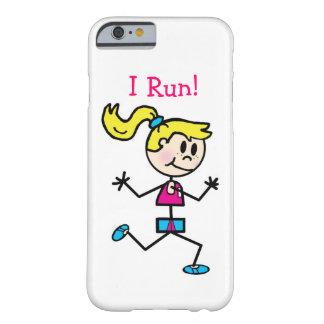 ¡Corro! Funda De iPhone 6 Barely There