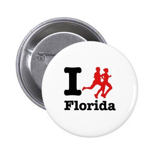 Corro la Florida Pins
