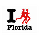 Corro la Florida Tarjetas Postales