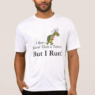 ¡Corro más lento que una tortuga, pero corro! Polera