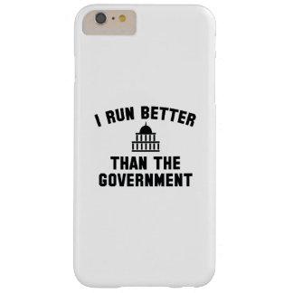 Corro mejor que el gobierno funda para iPhone 6 plus barely there