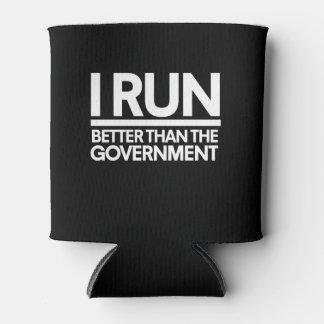 Corro mejor que el humor del corredor del gobierno enfriador de latas