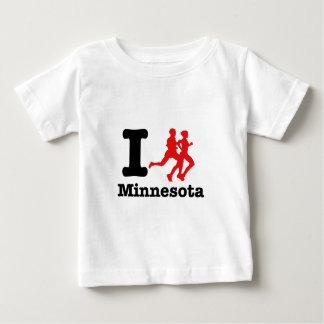 Corro Minnesota Playera De Bebé