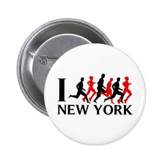 CORRO NUEVA YORK PIN REDONDO DE 2 PULGADAS