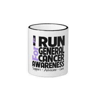 Corro para general Cancer Awareness Taza De Café