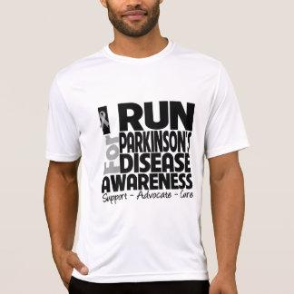 Corro para la conciencia de la enfermedad de Parki Tee Shirts