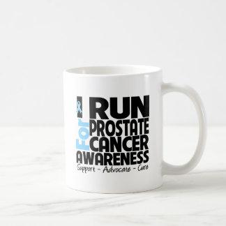 Corro para la conciencia del cáncer de próstata taza
