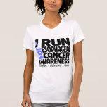 Corro para la conciencia del esófago del cáncer camisetas