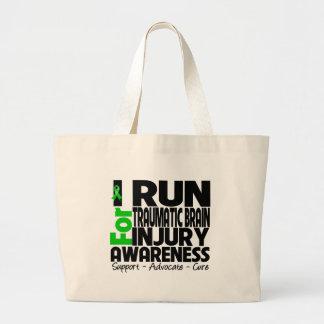 Corro para la conciencia traumática de la lesión c bolsas lienzo