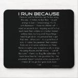 Corro porque alfombrillas de raton