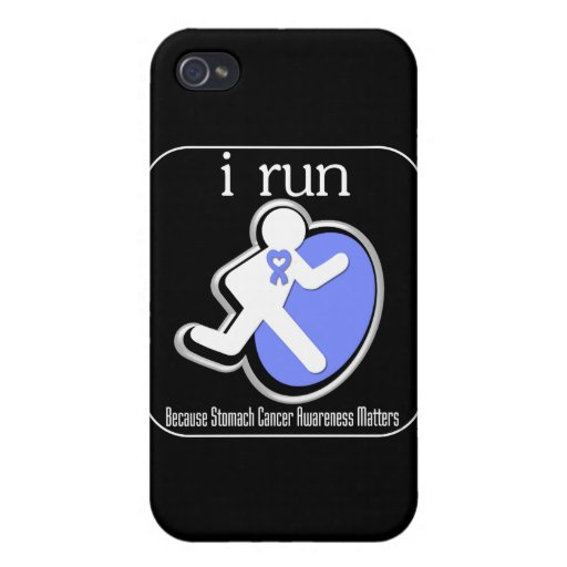 corro porque cáncer de estómago Mers iPhone 4 Carcasa