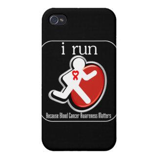 corro porque cáncer de sangre Mers iPhone 4 Fundas