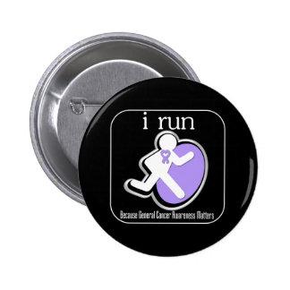 corro porque general Cancer Matters Pins