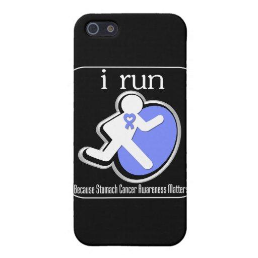 corro porque importa el cáncer de estómago iPhone 5 carcasa