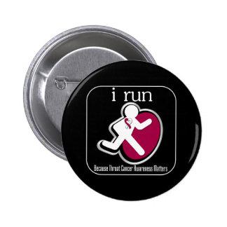 corro porque importa el cáncer de garganta pin