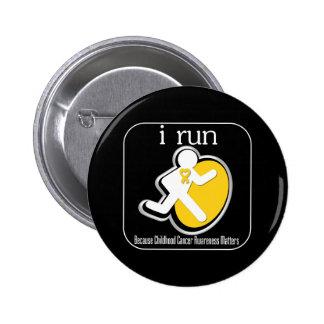 corro porque importa el cáncer de la niñez pins