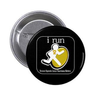 corro porque importa el cáncer del apéndice pin