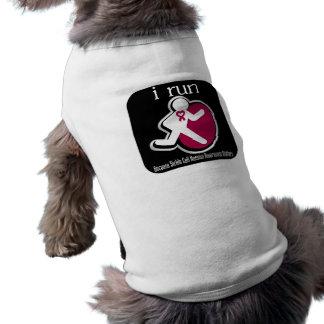 corro porque importa la célula falciforme camiseta de mascota