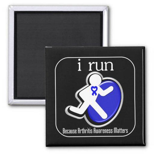 corro porque importa la conciencia de la artritis imán de frigorifico