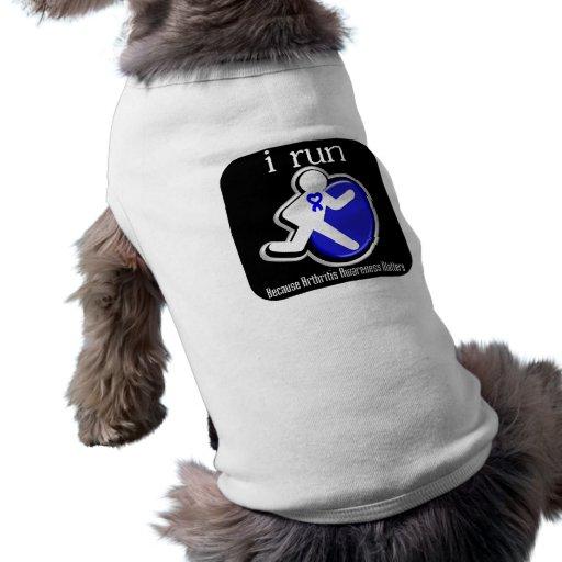 corro porque importa la conciencia de la artritis ropa de perros