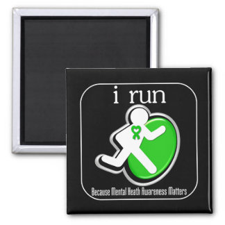 corro porque importa la conciencia de la salud men imán de frigorifico