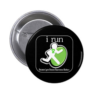 corro porque importa la enfermedad de Lyme Pin