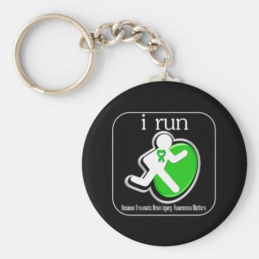 corro porque importa la lesión cerebral traumática llaveros personalizados