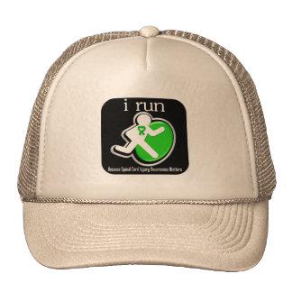 corro porque importa lesión de la médula espinal gorro de camionero