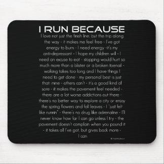Corro porque tapetes de raton