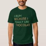 Corro porque tengo gusto realmente de decir del playeras