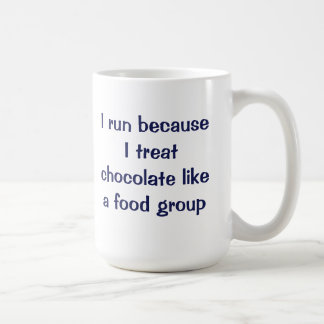Corro porque trato el chocolate como un grupo de taza clásica