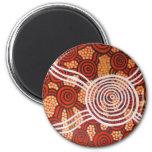 Corroboree II Aboriginal Art Refrigerator Magnets