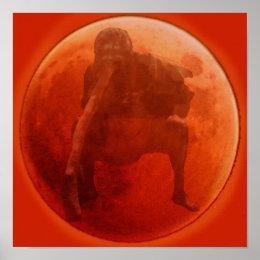 Corroboree Moon Poster
