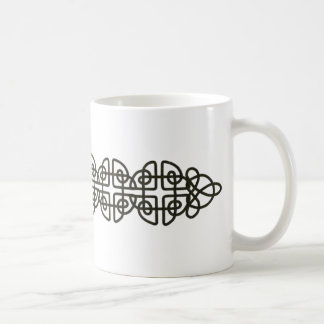 Corroded Celtic Knot Strip Mugs