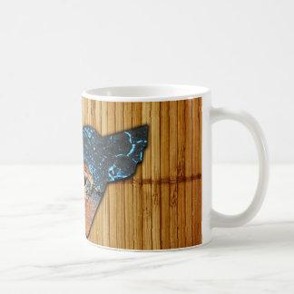Corroded Heart Pattern Coffee Mug