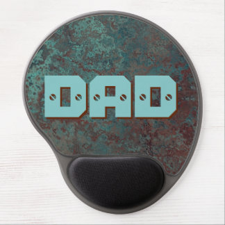 "Corrosion ""Copper"" DAD print gel mousepad"