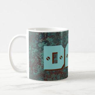 """Corrosion """"Copper"""" DAD print mug"""