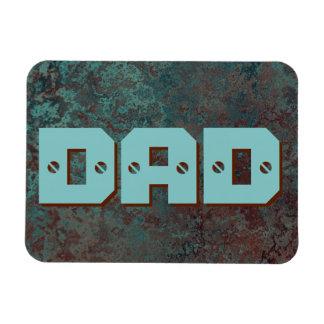 "Corrosion ""Copper"" print DAD flexible Magnet"