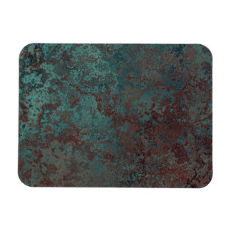 "Corrosion ""Copper"" print flexible fridge magnet"
