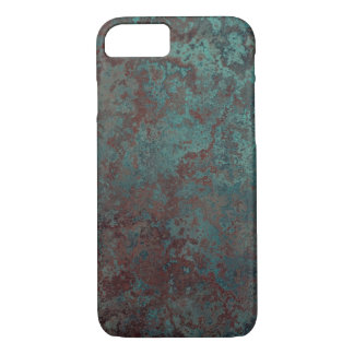 """Corrosion """"Copper"""" print iPhone 7 barely there iPhone 8/7 Case"""