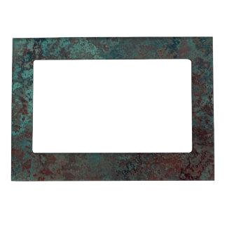 "Corrosion ""Copper"" print magnetic frame"