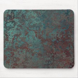 "Corrosion ""Copper"" print mousepad"